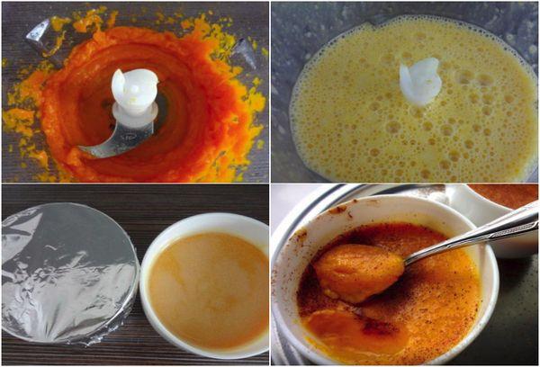 Приготовление пудинга