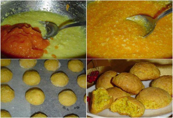 Приготовление тыквенного печенья 2