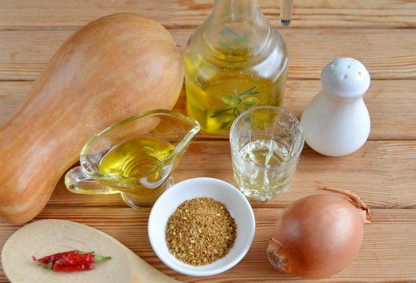 Ингредиенты для салата по корейский