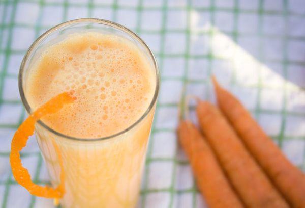 Тыквенный смузи с морковью