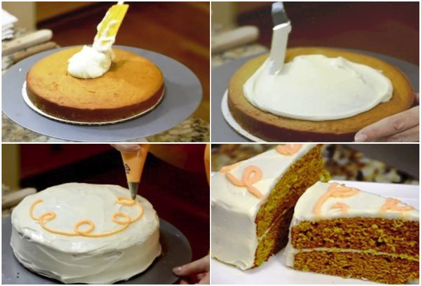 тортик тыквенный