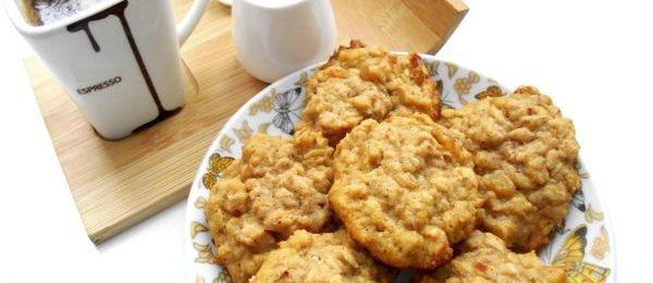 Рецепт тыквенно - овсяного печенье