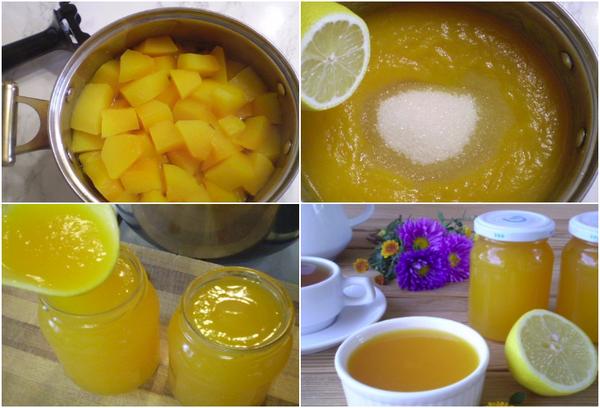 Лимонно-тыквенный джем