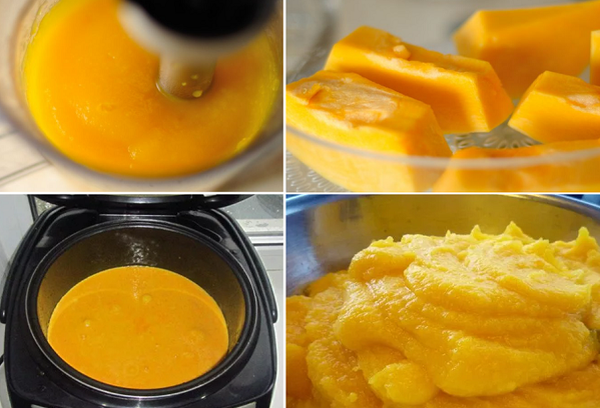 Способы приготовление пюре из тыквы