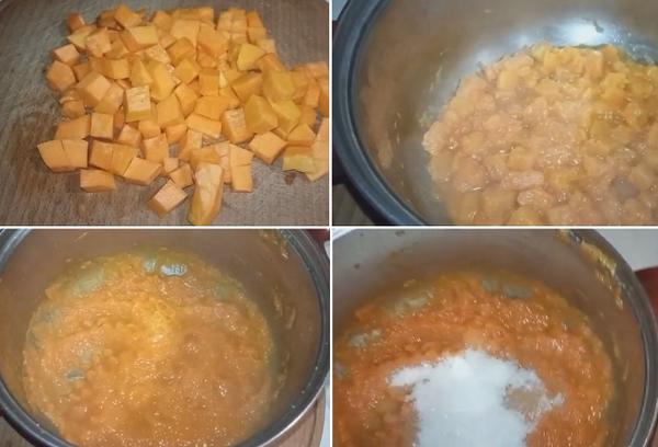 Приготовление мармелада
