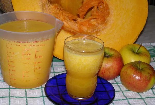 Тыквенно-яблочный витаминный коктейль