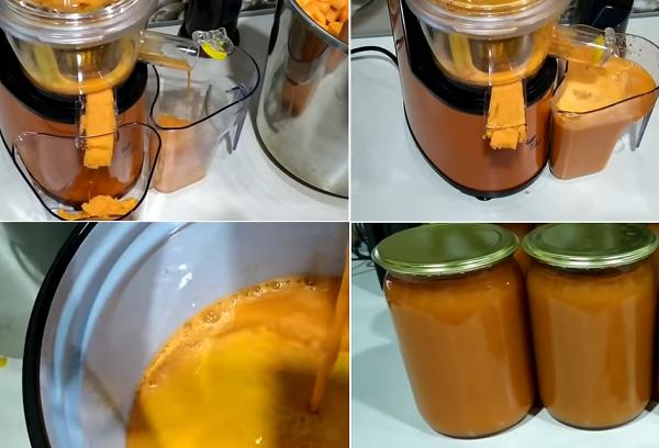 Ароматный тыквенно-морковный напиток